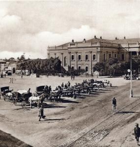 Kimberley City Hall many years ago
