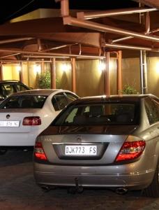 Safe undercover parking
